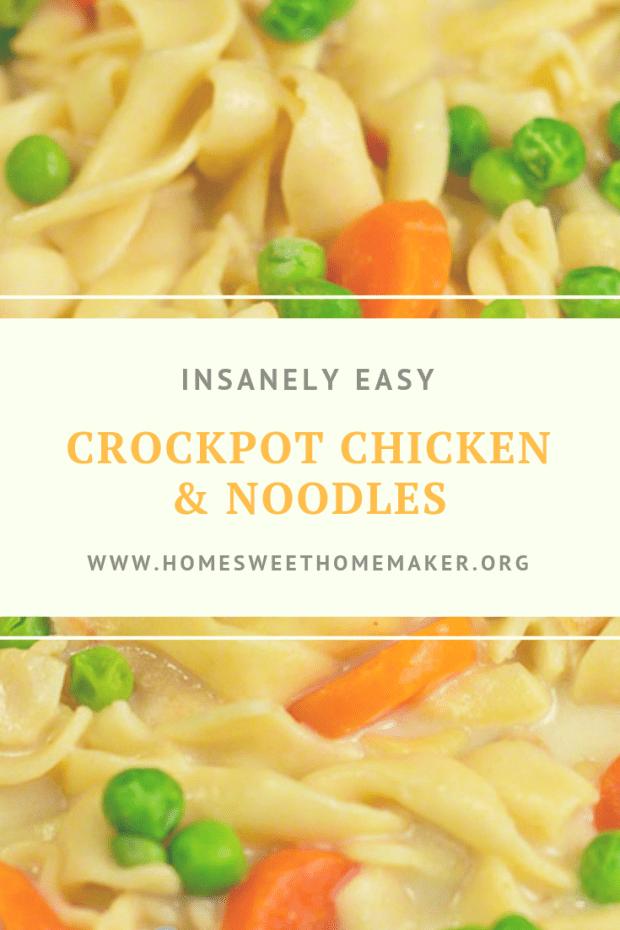 crockpot chicken  noodles  easy crockpot chicken easy dinner recipes easy meals