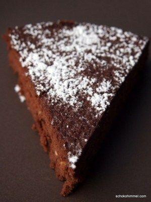 Italienische Torta Formosa - ein Kuchen wie Schoko-Mousse #KulinarischUmDieWelt - Schokohimmel #schokokuchen