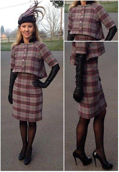 Adorn Hat Joan Briers Jacket Joan Briers Tweed Dress Dents