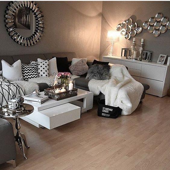 ♡ ᒪOᑌIᔕE ♡ 💋 Interior Decorating Pinterest Decoración - Decoracion De Interiores Salas