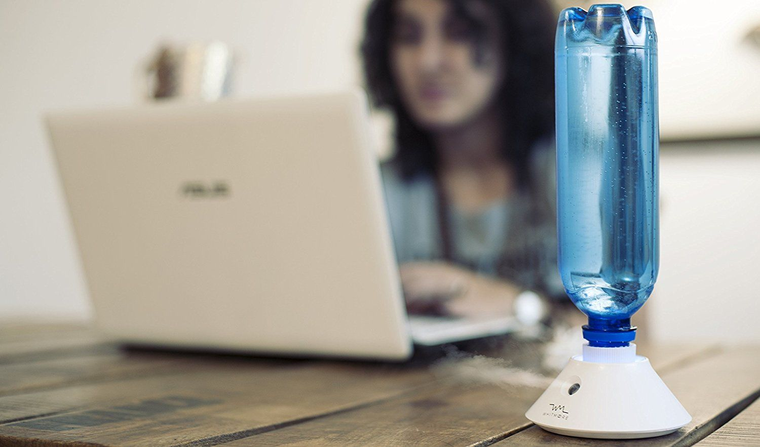 Portable Cool Mist Personal Humidifiers Usb Ed Whisper Quiet Ultrasonic Water Bottle