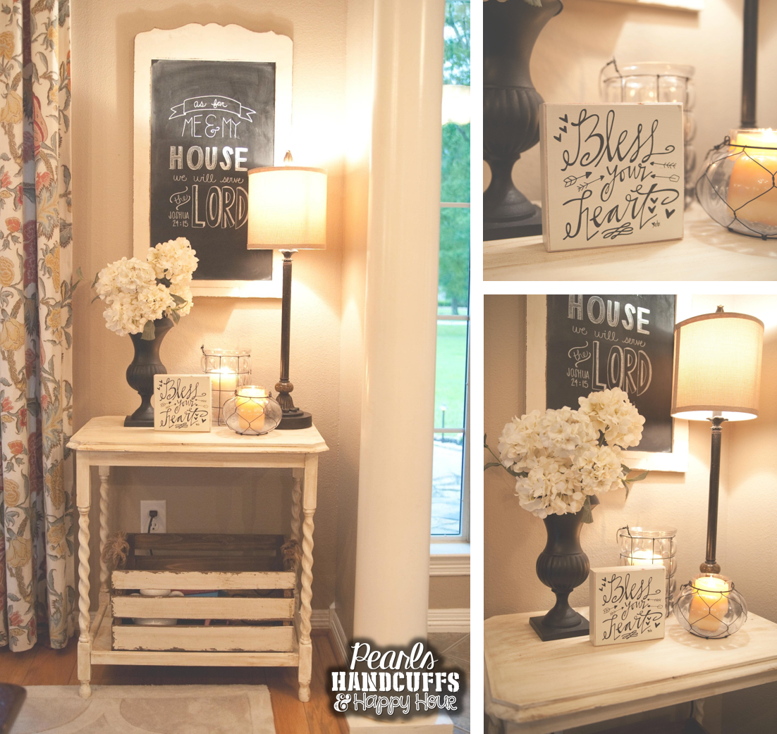 Not Just Another Home Decor Site: Great Site For Decor Ideas Pearls, Handcuffs, And Happy