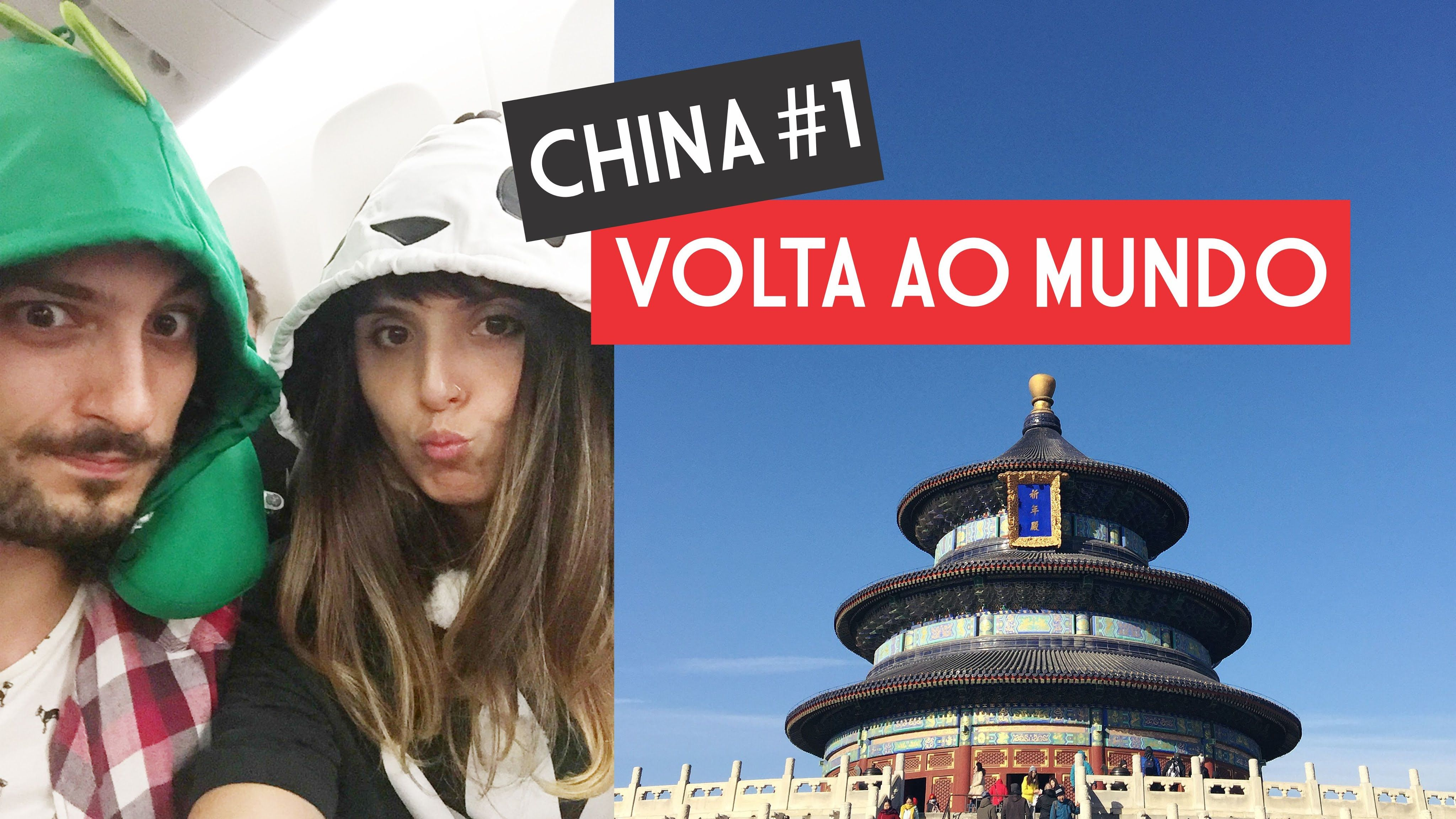 Primeiro vlog de uma viagem INCRÍVEL para a China!