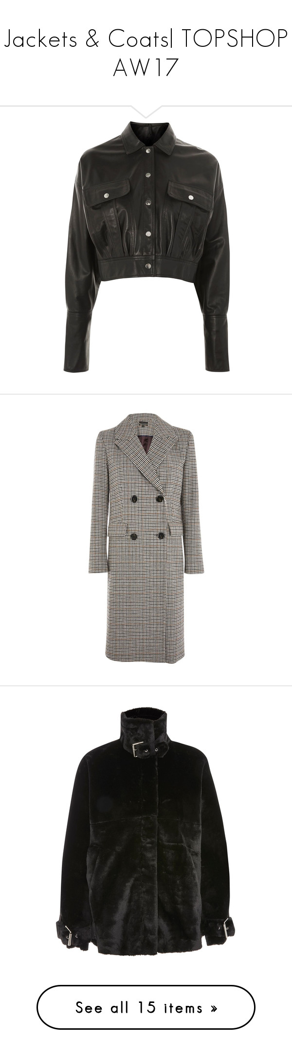 """""""Jackets & Coats AW17"""" by briarachele on Polyvore"""