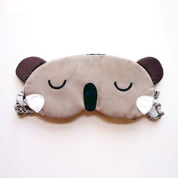 masque de sommeil koala eyemask oeil de masque par. Black Bedroom Furniture Sets. Home Design Ideas