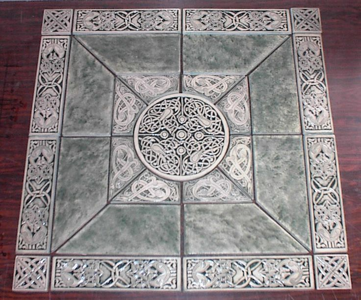 Celtic+Floor+Tile | center piece for an entryway? | Interesting ...