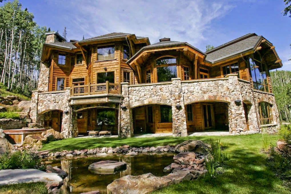 Las caba as m s hermosas del mundo casas pinterest for Las casas mas hermosas del mundo