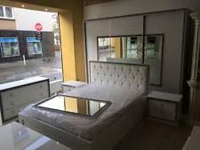 Schlafzimmer 6 Tlg Weiss Italienische Designer Möbel Mit Strass