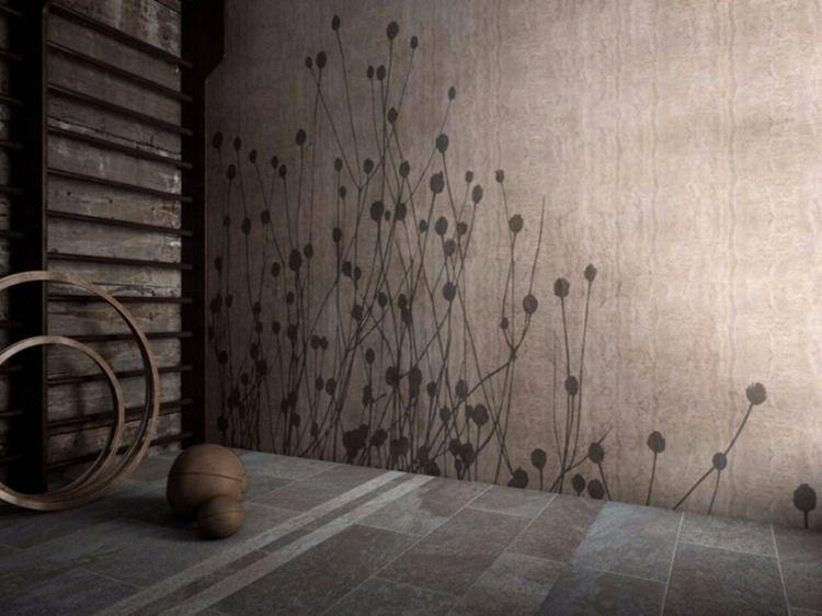 Vliestapete Badezimmer ~ Treppe schafft optische täuschung im kleinen badezimmer tapete