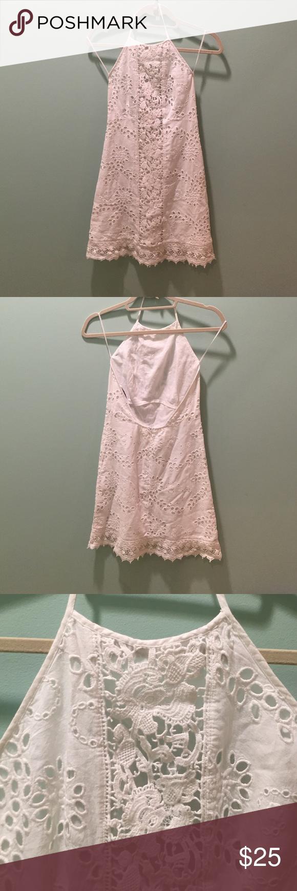 White lace dress zara  Zara dress  My Posh Closet  Pinterest  Lace summer dresses Zara