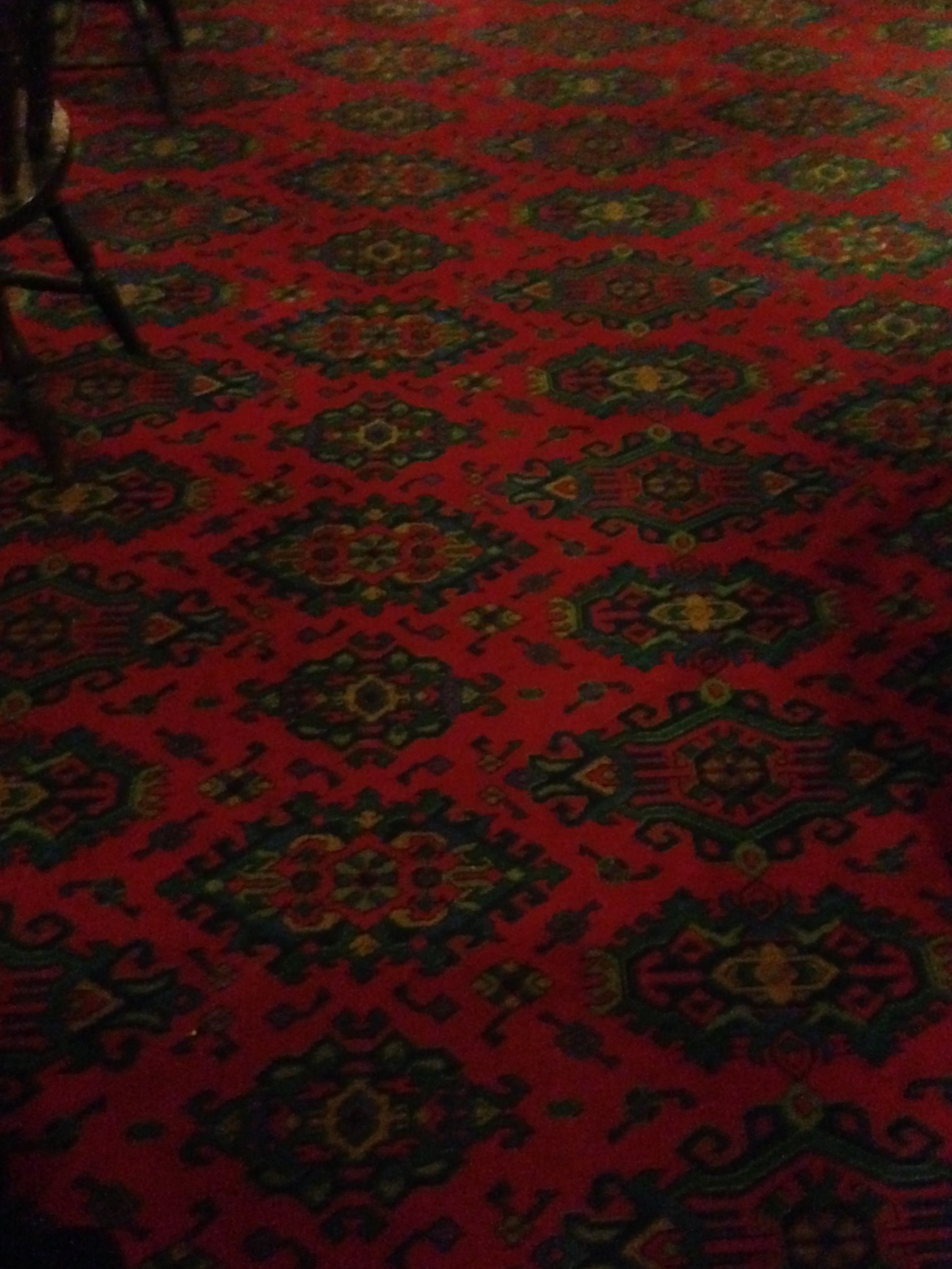 British Pub Carpet Found In The Stilton Cheese Somerby Leicestershire England Dec 2017