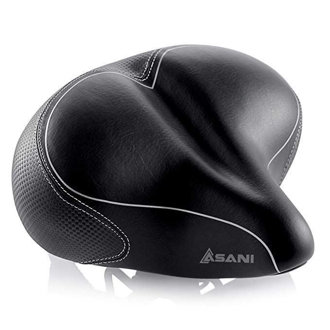 Oversized Comfort Bike Seat Most Comfortable Replacement Bicycle
