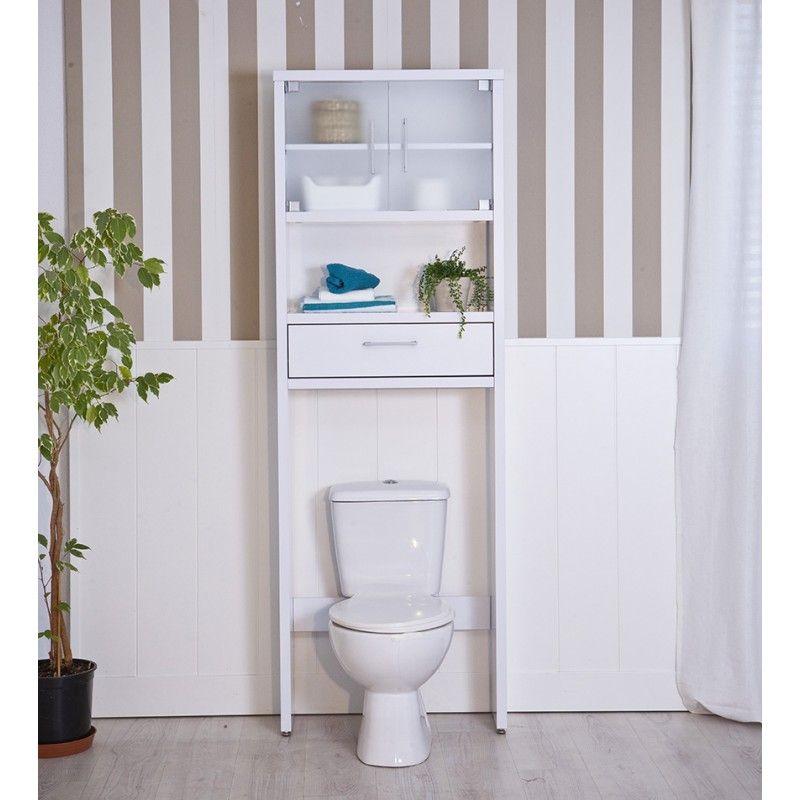Mesa de ba o sobre inodoro topkit decoracion for Muebles para toallas