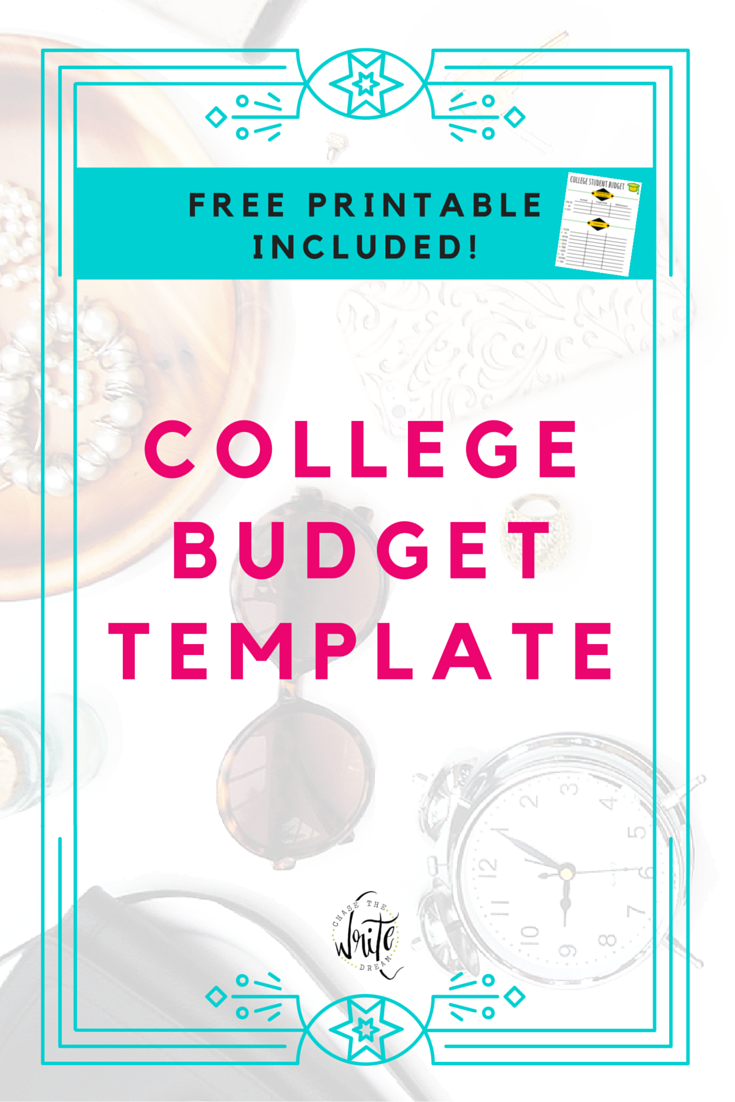 college budget template free printable for students looking for ways to save money and track expenses these budgeting sheets for college students will