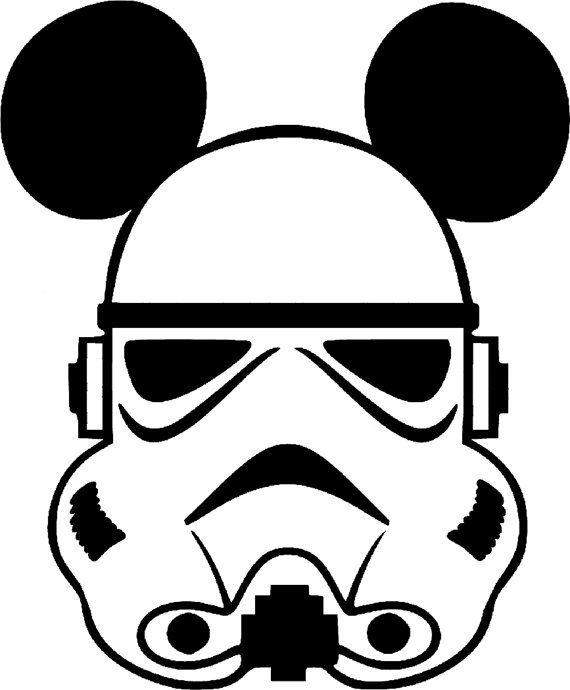 SVG disney stormtrooper mickey star wars by ...