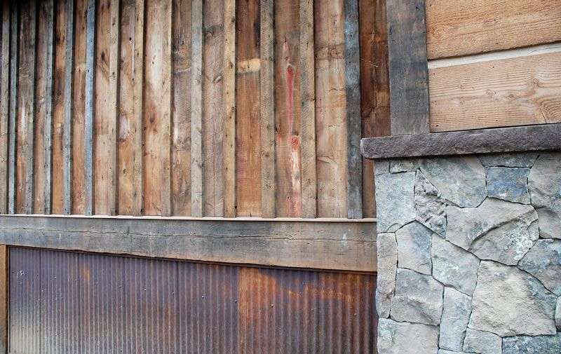 Pin By Susan Moore On Dream Home Corrugated Metal Siding Hand Hewn Beams Corrugated Metal