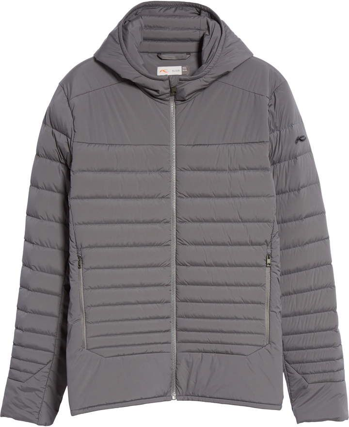 Kjus Blackcomb Stretch Hooded Men S Down Fill Jacket Jackets Man Down Winter Jackets