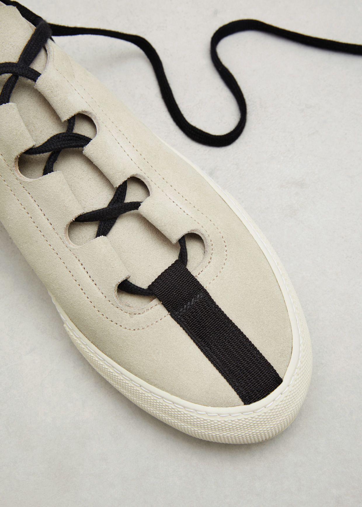 Dries Van Noten Suede Ballet Shoes Ecru Sport Shoes Design Shoes Mens Shoes