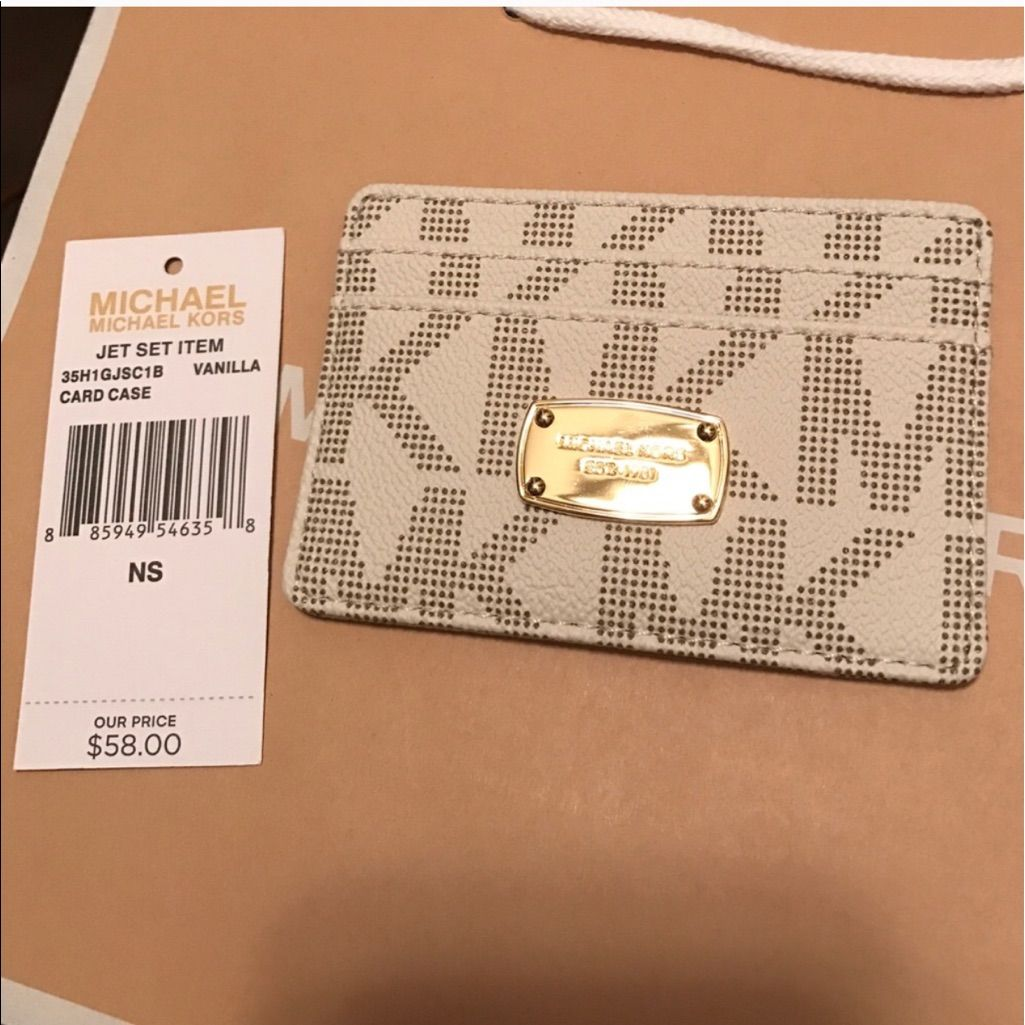 Mk Credit Card Waller New With Tag