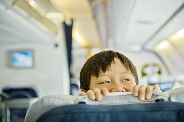 Travelling with kids: This is what a 6-year-old thinks of child-free zones on planes