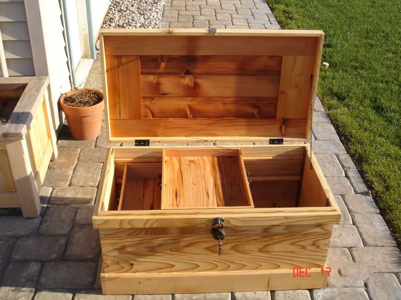 how to make a wooden tack box