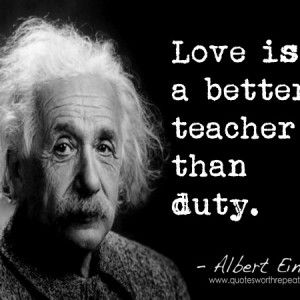 ALBERT EINSTEIN QUOTES ABOUT LOVE image quotes at
