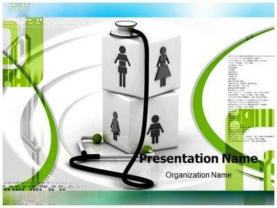 complete family healthcare powerpoint presentation template is one, Modern powerpoint