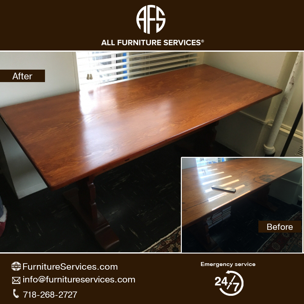 Desk Table Top Refinishing Color Stain Finish Resistant Change Furniture Repair Furniture Wood Refinishing