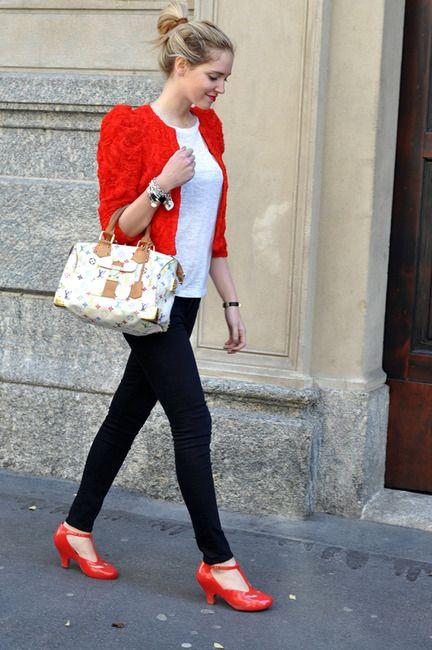 84d9ce757a87 ... Chiara Ferragni. Red shoes