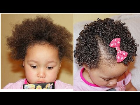 My Daughter S Natural Hair Regimen Toddlers Healthy Hair Care