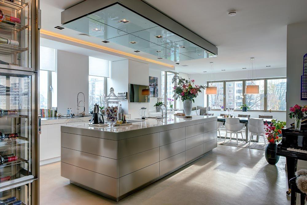 Kookeiland Woonkeuken : design woonkeuken ontworpen door architect Max Lammers