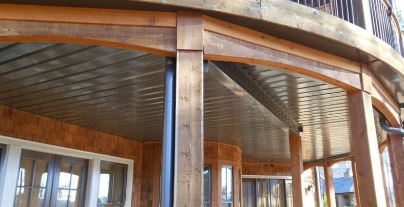 under deck ceiling watershed underdeck ceiling system deck patio 10616