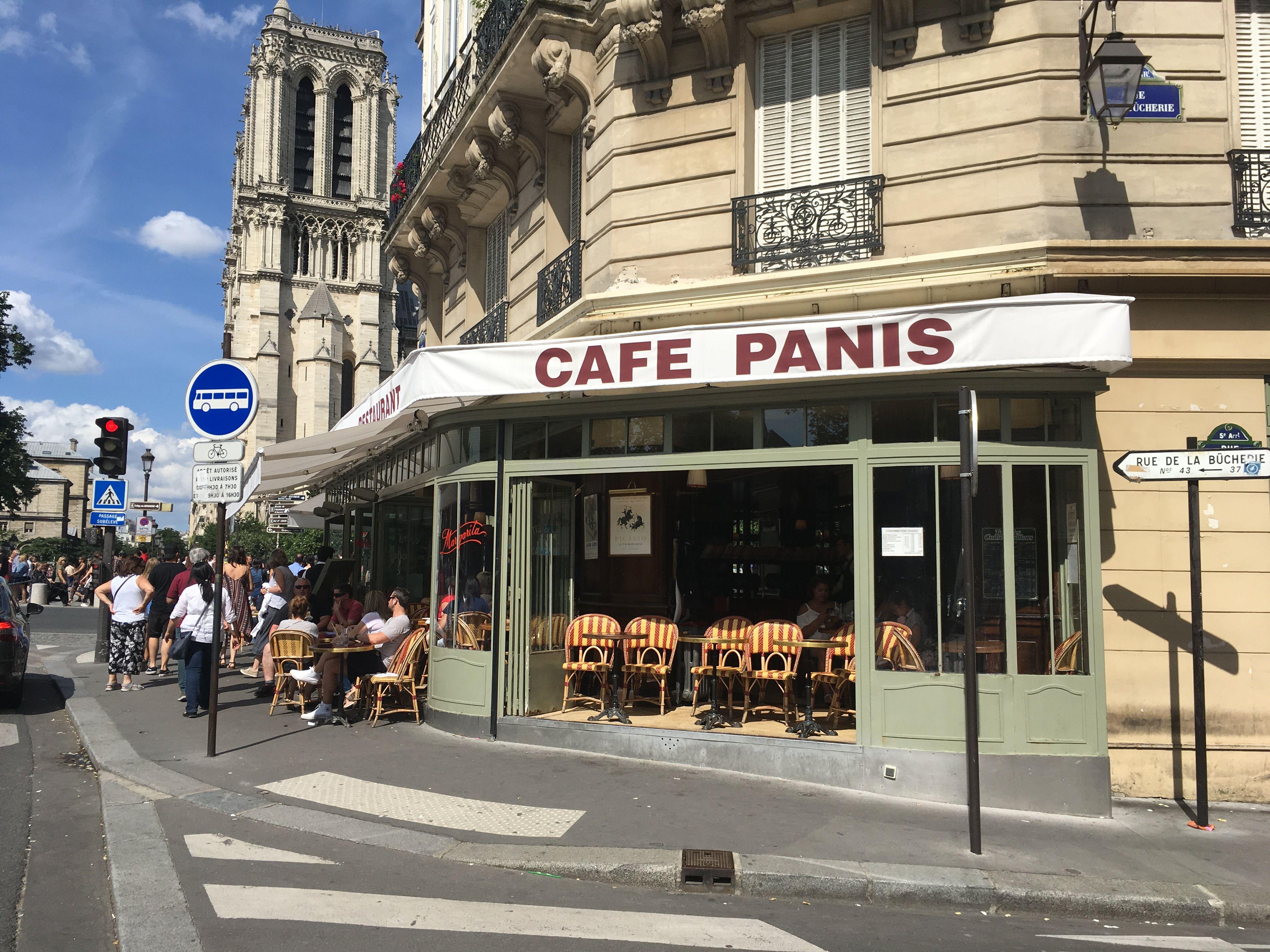 Cafe Panis 21 Quai De Montebello Paris 5 Cafe De Paris Paris Quai