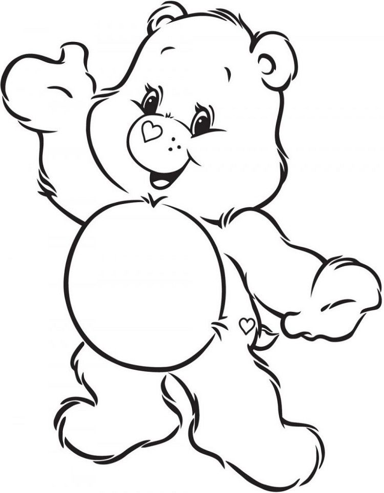 Share Bear Coloring Pages Bear Coloring Pages