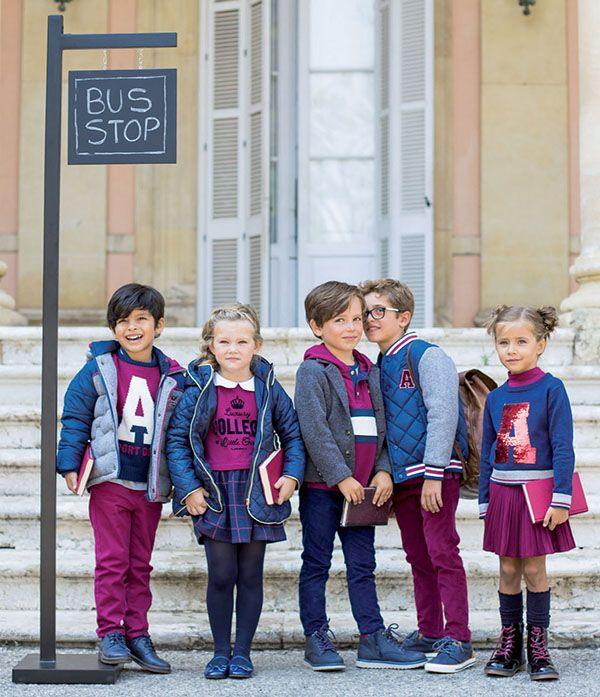 28121aabb Moda niños otoño invierno 2018 ropa para niños y niñas. Moda 2018 ...