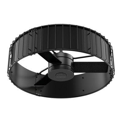 Ceiling Fan With Light Black 32 68 X 21 65 X 10 Hunter