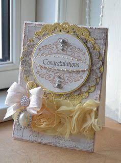 Blomsterbox: Kort *Congratulations*