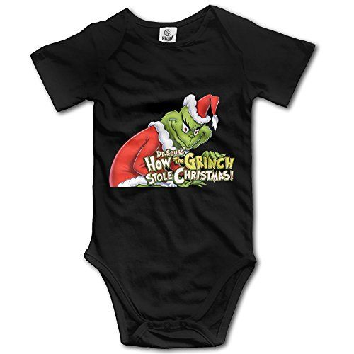 How The Grinch Stole Christmas Unisex Short Sleeve Romper Bodysuit