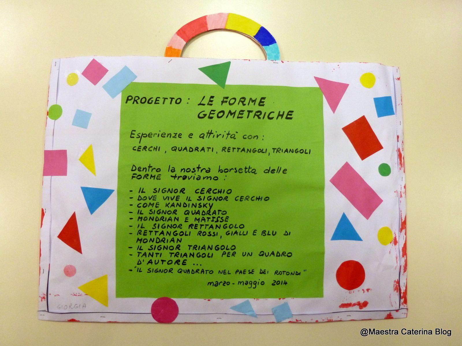 Geometria Bambini ~ Maestra caterina: filastrocca delle forme geometriche lab