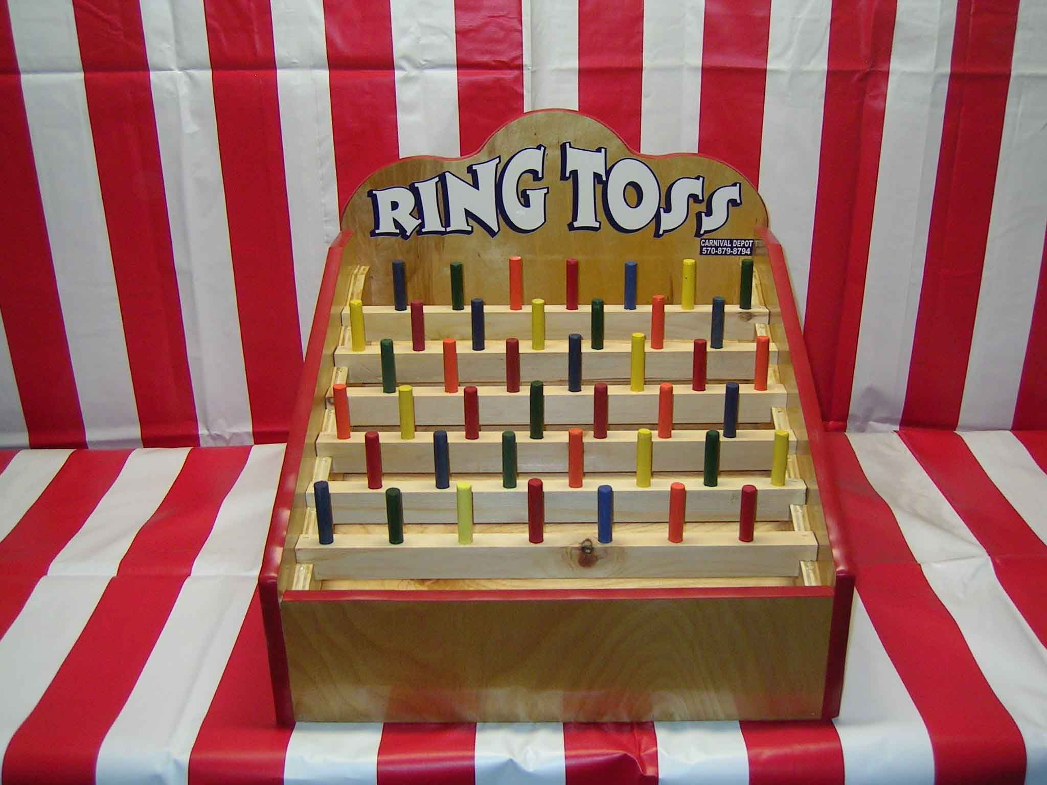 Ring Toss Carnival Game Misc Pinterest Ring toss