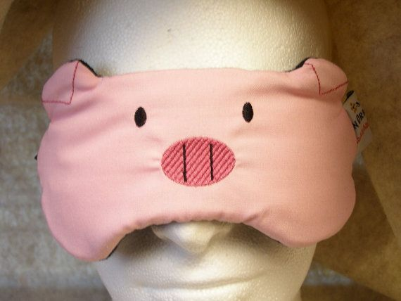 46708179f53 Embroidered Eye Mask for Sleeping Cute Sleep Mask for Kids