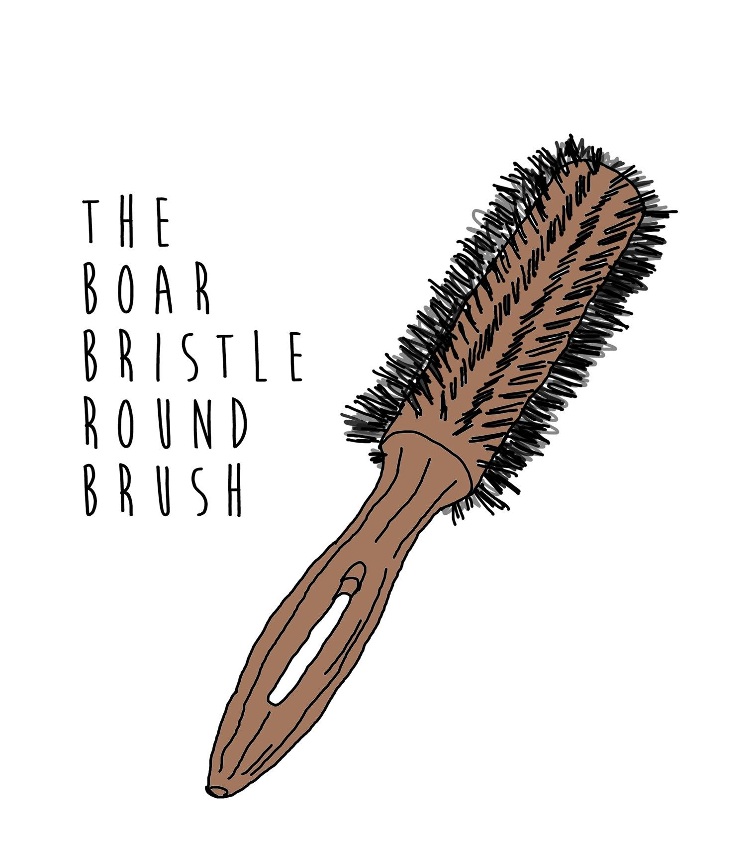 Pin on hair brushes for curly hair