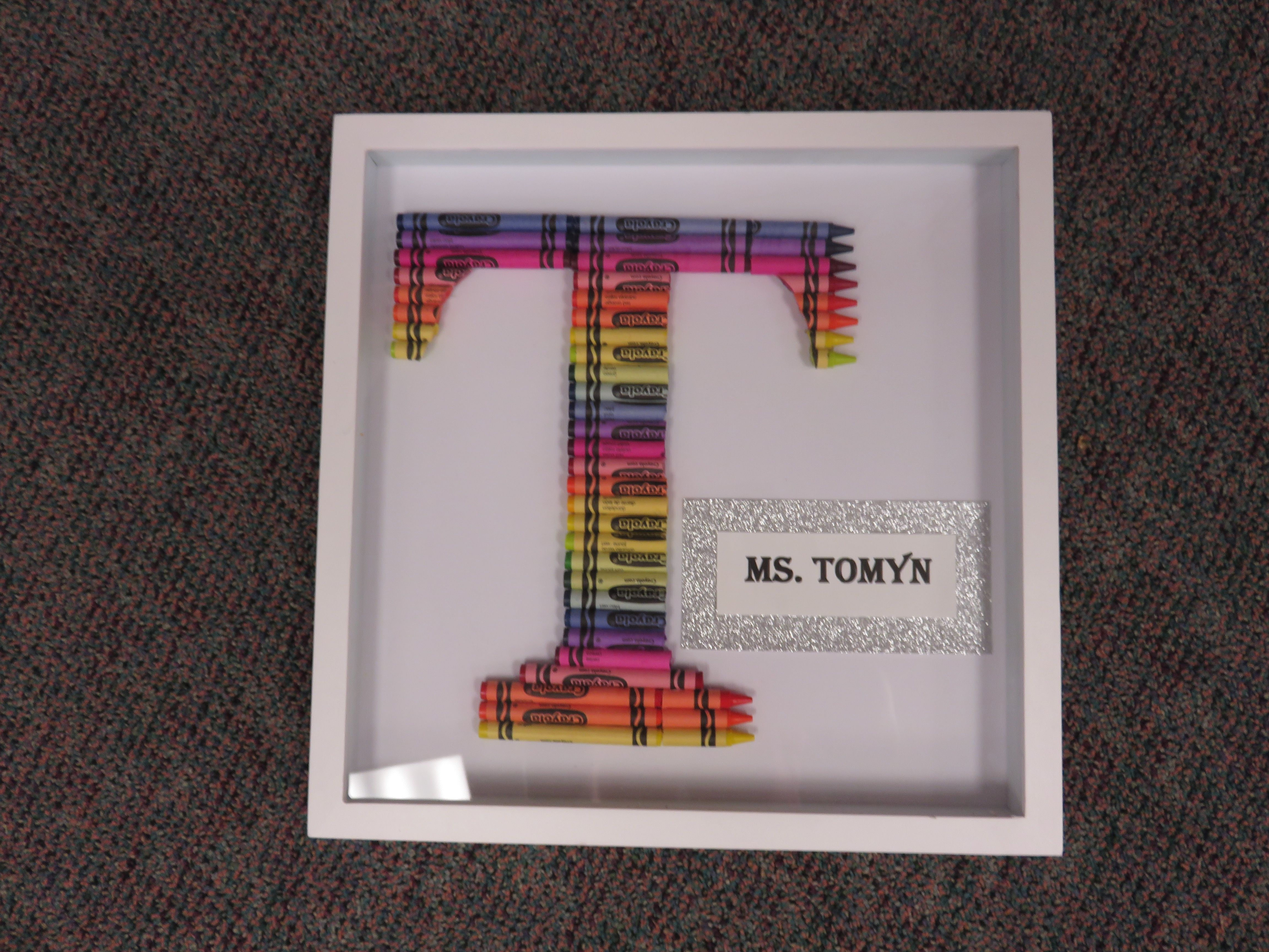 Crayon Letter Teacher Gifts T