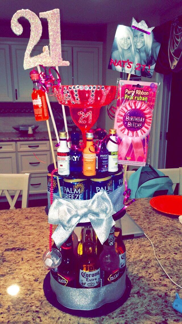 Liquor 21st Cake Birthday