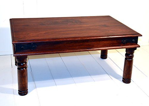 Present Company Indian Rosewood Sheesham Thakat Coffee Table Fairly Traded From India 60 X 90 No