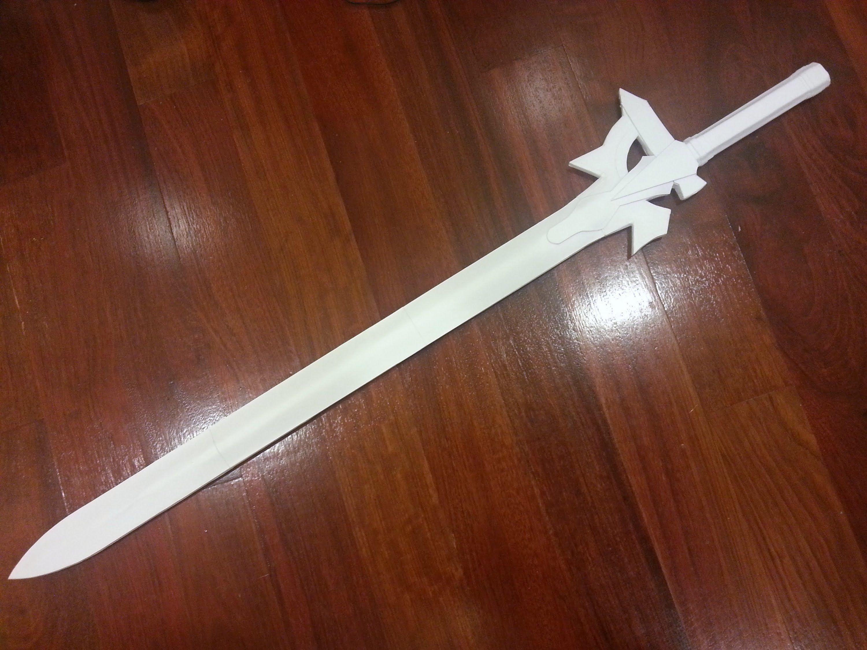 Mini Paper Sword Tutorial Michaelieclark Origami Diagrams This Is The We Make In How To Kiritos Elucidator From Art Online