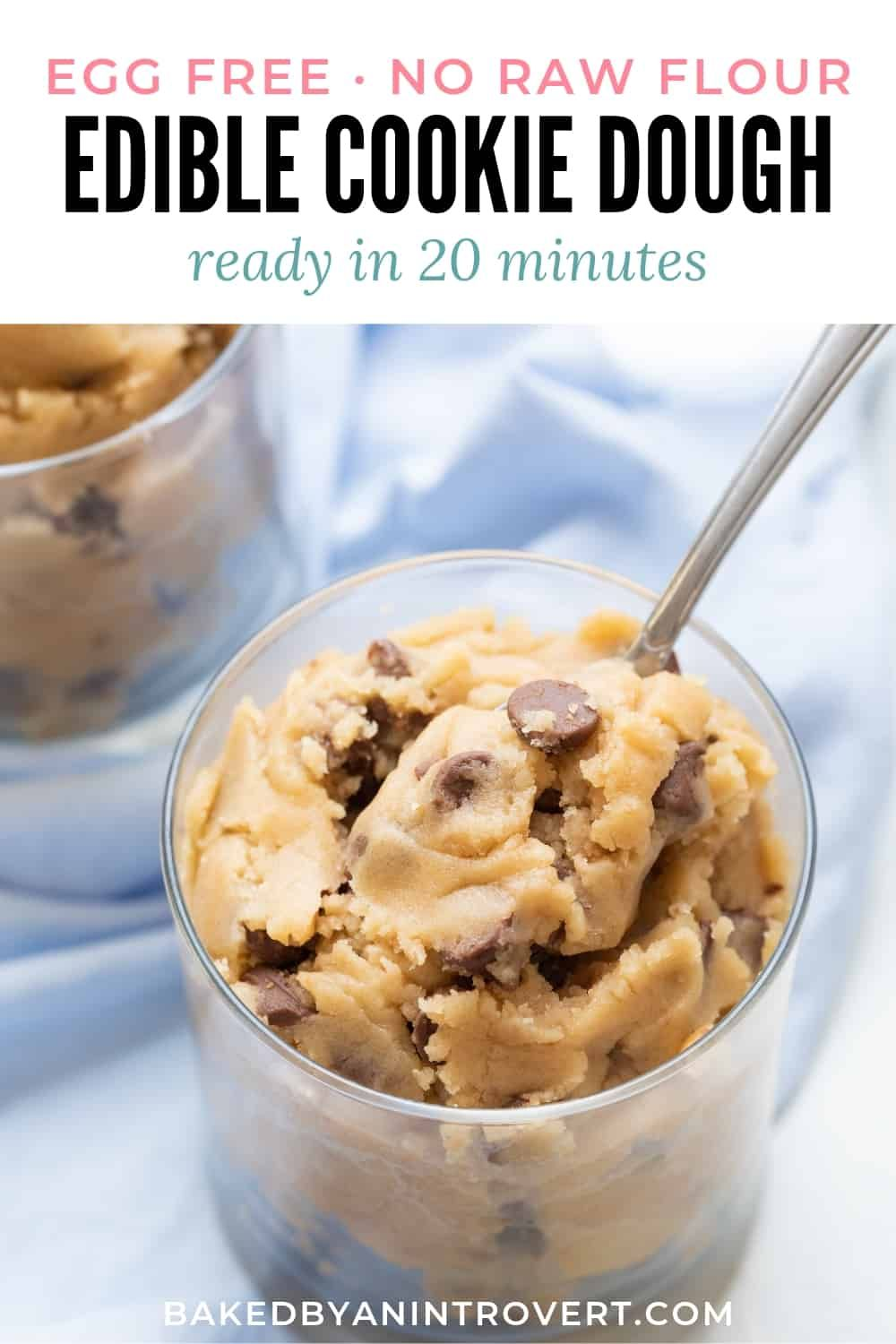 Edible Cookie Dough | Baked by an Introvert®