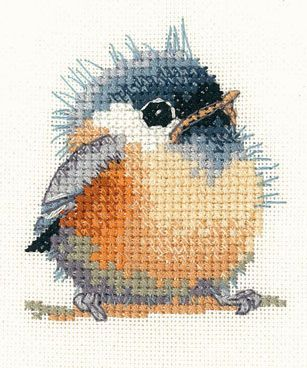 Chickadee Little Friends Cross Stitch Kit