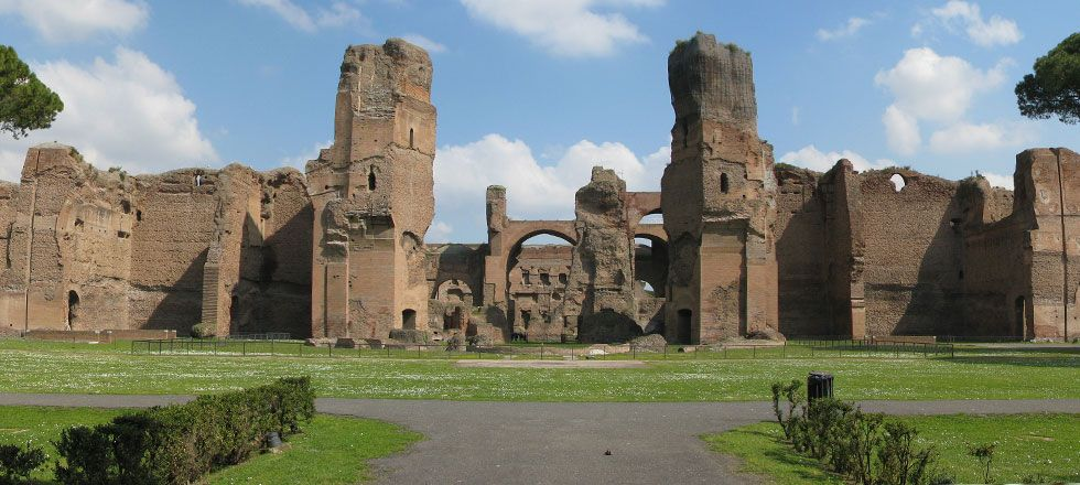 Restoration of Roman Tunnels Gives a Slave's Eye View of Caracalla Baths in Rome. ((Image: Chris (Wikimedia Commons, used under a CC BY-SA 3.0))