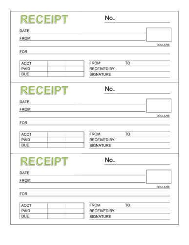 Rent Receipt Template Check more at   cleverhippoorg/rent - Sample Address Book Template